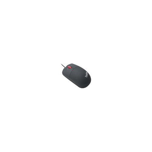 Lenovo ThinkPad - Mouse - laser - 3 buttons - wired - USB - stealth black - for Tablet 10; ThinkCentre M625; M71X; ThinkPad A275; A475; P52; T480; X280; V330-15; V410