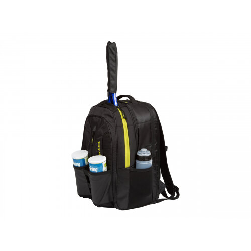"""Targus Work + Play Rackets - Notebook carrying backpack - 15.6"""" - black, yellow"""