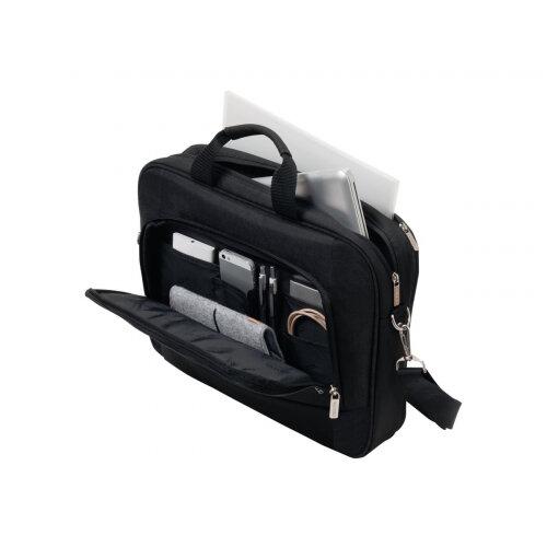 "Dicota Top Traveller BASE - Notebook carrying case - Laptop Bag - 13"" - 14.1"" - black"