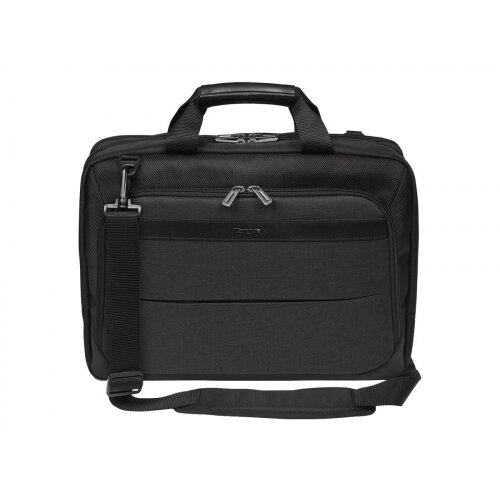 "Targus CitySmart High Capacity Topload - Notebook carrying case - Laptop Bag - 14"" - 15.6"" - grey, black"