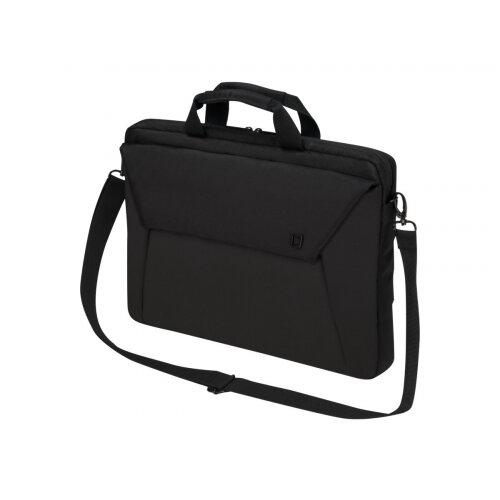 "Dicota Slim Case EDGE - Notebook carrying case - Laptop Bag - 15.6"" - black"