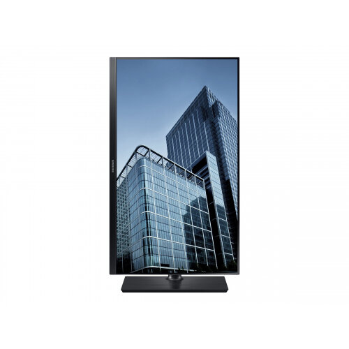 "Samsung SH85 Series S27H850QFU - LED Computer Monitor - 27"" (26.9"" viewable) - 2560 x 1440 - Plane to Line Switching (PLS) - 350 cd/m² - 1000:1 - 4 ms - HDMI, DisplayPort - black"