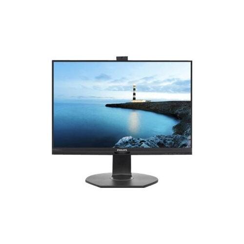 "Philips Brilliance B-line 241B7QPJKEB - LED Computer Monitor - 24"" (23.8"" viewable) - 1920 x 1080 Full HD (1080p) - IPS - 250 cd/m² - 1000:1 - 5 ms - HDMI, VGA, DisplayPort - speakers - textured black with black stand"