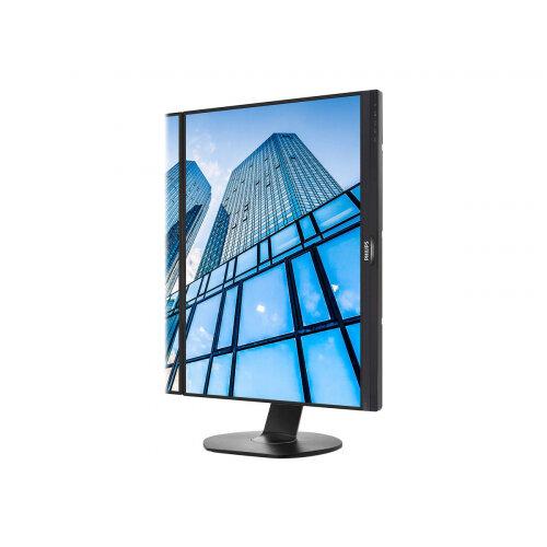 "Philips Brilliance B-line 241B7QPTEB - LED Computer Monitor - 24"" (23.8"" viewable) - 1920 x 1080 Full HD (1080p) - IPS - 250 cd/m² - 1000:1 - 5 ms - HDMI, VGA, 2xDisplayPort, Mini DisplayPort - speakers - textured black with black stand"
