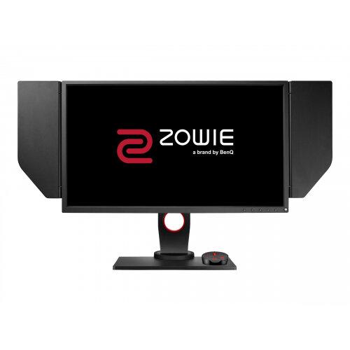 """BenQ ZOWIE XL Series XL2540 - LED Computer Monitor - 24.5"""" - 1920 x 1080 Full HD (1080p) - TN - 400 cd/m² - 1000:1 - 1 ms - 2xHDMI, DVI-D, DisplayPort - black, red"""