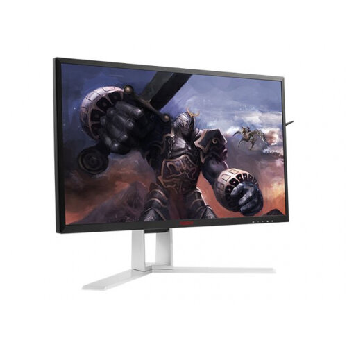 "AOC Gaming AG271QG - LCD monitor - 27"" - 2560 x 1440 - IPS - 350 cd/m² - 1000:1 - 4 ms - HDMI, DisplayPort - speakers"