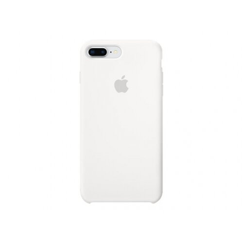 Apple - Back cover for mobile phone - silicone - white - for iPhone 7 Plus, 8 Plus