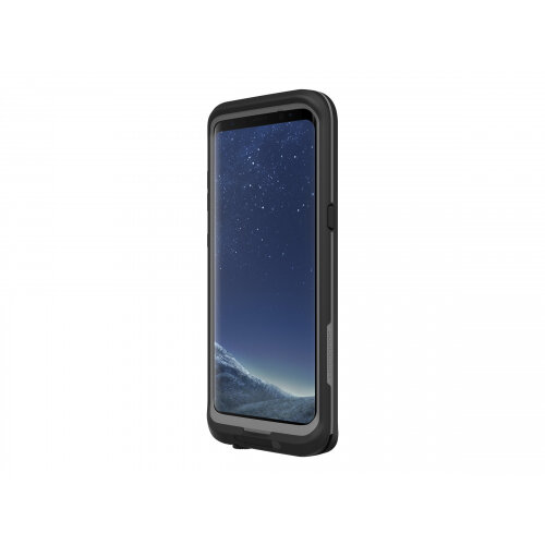 LifeProof Fre Samsung GALAXY S8+ - Protective waterproof case for mobile phone - asphalt black - for Samsung Galaxy S8+