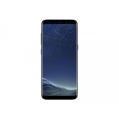 "Samsung Galaxy S8 - SM-G950F - smartphone - 4G LTE - 64 GB - microSDXC slot - TD-SCDMA / UMTS / GSM - 5.8"" - 2960 x 1440 pixels (570 ppi) - Super AMOLED - RAM 4 GB - 12 MP (8 MP front camera) - Android - midnight black"