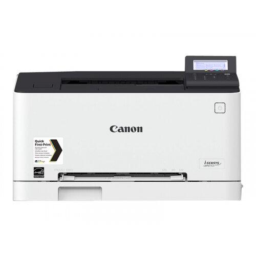 Canon i-SENSYS LBP611Cn - Printer - colour - laser - A4/Legal - 1200 x 1200 dpi - up to 18 ppm (mono) / up to 18 ppm (colour) - capacity: 150 sheets - USB 2.0, Gigabit LAN, USB host