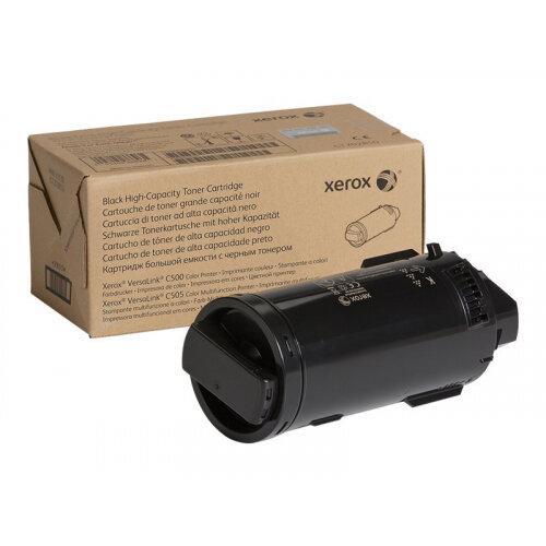 Xerox - High capacity - black - toner cartridge - for VersaLink C500, C505