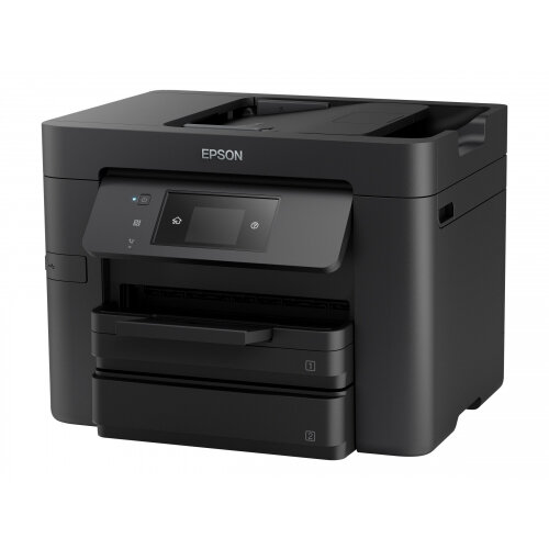 Epson WorkForce Pro WF-4730DTWF - Multifunction printer - colour - ink-jet - A4/Legal (media) - up to 34 ppm (printing) - 500 sheets - 33.6 Kbps - USB 2.0, LAN, Wi-Fi(n), USB host, NFC