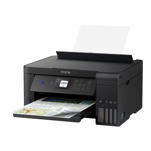 Epson EcoTank ET-2750 - Multifunction printer - colour - ink-jet - A4/Legal (media) - up to 33 ppm (printing) - 100 sheets - USB, Wi-Fi