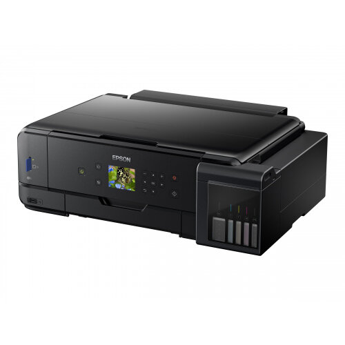 Epson EcoTank ET-7750 - Multifunction printer - colour - ink-jet - A3 (media) - up to 28 ppm (printing) - 100 sheets - USB, LAN, USB host, Wi-Fi
