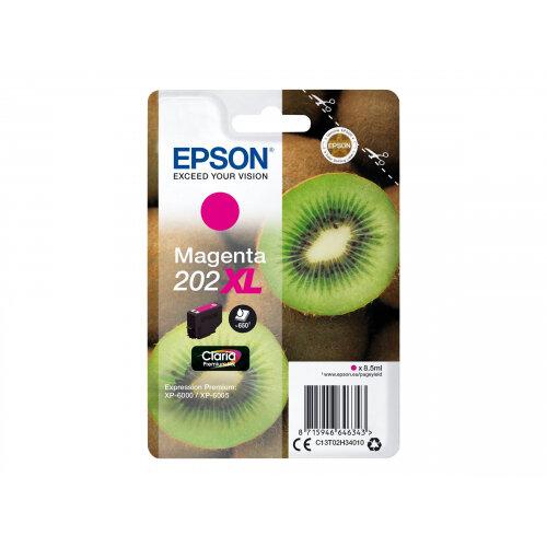 Epson 202XL - 8.5 ml - XL - magenta - original - blister - ink cartridge - for Expression Premium XP-6000, XP-6005
