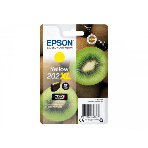 Epson 202XL - 8.5 ml - XL - yellow - original - blister - ink cartridge - for Expression Premium XP-6000, XP-6005