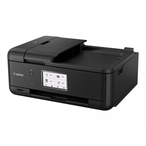Canon PIXMA TR8550 - Multifunction printer - colour - ink-jet - A4 (210 x 297 mm), Legal (216 x 356 mm) (original) - A4/Legal (media) - up to 15 ipm (printing) - 200 sheets - 33.6 Kbps - USB 2.0, LAN, Wi-Fi(n), Bluetooth