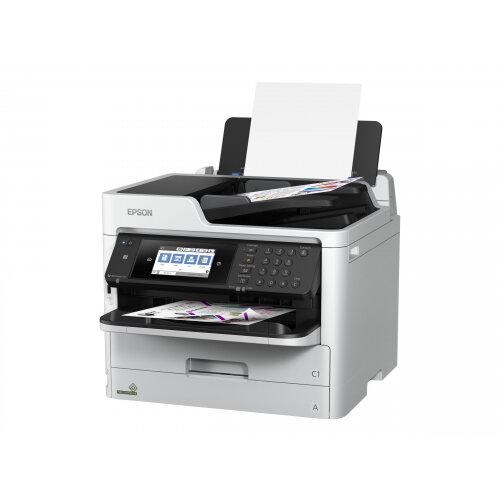 Epson WorkForce Pro WF-C5710DWF - Multifunction printer - colour - ink-jet - A4 (210 x 297 mm), Legal (216 x 356 mm) (original) - A4/Legal (media) - up to 22 ppm (copying) - up to 34 ppm (printing) - 330 sheets - 33.6 Kbps - USB 2.0, Gigabit LAN, Wi-Fi(n)