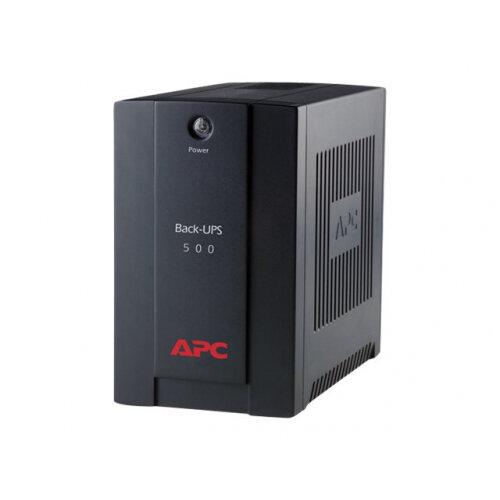 APC Back-UPS 500CI - UPS - AC 230 V - 300 Watt - 500 VA - output connectors: 3 - black