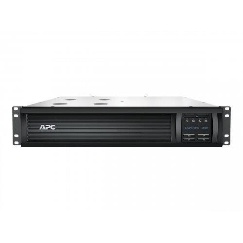 APC Smart-UPS 1500 LCD - UPS (rack-mountable) - AC 230 V - 1000 Watt - 1500 VA - RS-232, USB - output connectors: 4 - 2U - black