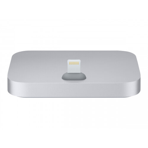 Apple iPhone Lightning Dock - Docking station - space grey - for iPhone 5, 5c, 5s, 6, 6 Plus, 6s, 6s Plus, SE; iPod touch (5G, 6G)
