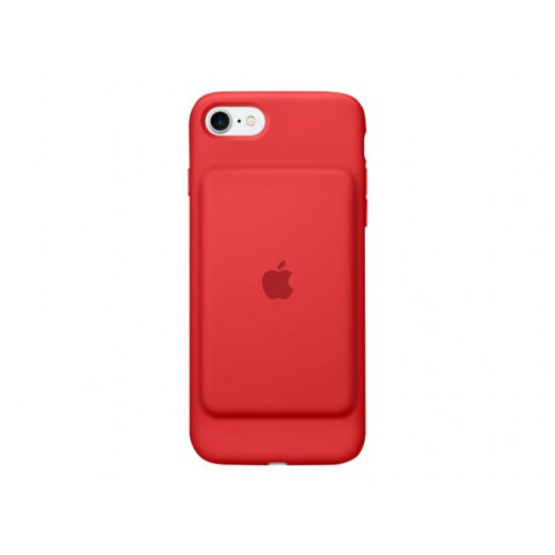 Apple Smart (PRODUCT) RED - Battery case for mobile phone - silicone, elastomer - red - for iPhone 7