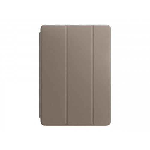 Apple Smart - Flip cover for tablet - leather - taupe - for 10.5-inch iPad Pro