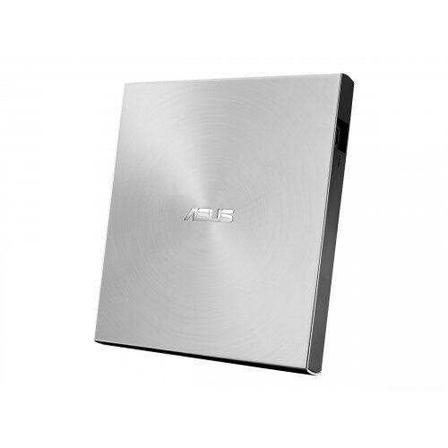 ASUS ZenDrive U7M SDRW-08U7M-U - Disk drive - DVD±RW (±R DL) / DVD-RAM - 8x/8x/5x - USB 2.0 - external - silver