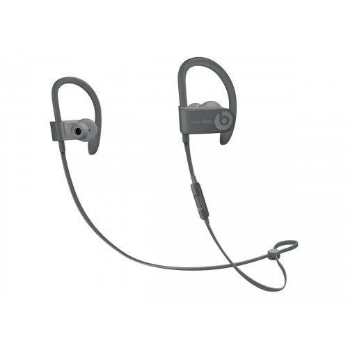 Beats Powerbeats3 Neighbourhood Collection - Earphones with mic - in-ear - over-the-ear mount - Bluetooth - wireless - noise isolating - asphalt gray - for 10.5-inch iPad Pro; 12.9-inch iPad Pro; 9.7-inch iPad (5th generation, 6th generation); 9.7-inch iP