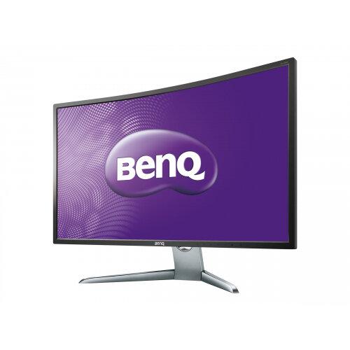 """BenQ EX3200R - LED Computer Monitor - curved - 31.5"""" - 1920 x 1080 Full HD (1080p) - VA - 300 cd/m² - 1000:1 - 4 ms - HDMI, DisplayPort, Mini DisplayPort - grey"""