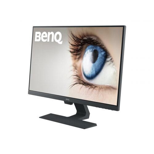"""BenQ GW series GW2780 - LED Computer Monitor - 27"""" - 1920 x 1080 Full HD (1080p) - IPS - 250 cd/m² - 1000:1 - 5 ms - HDMI, VGA, DisplayPort - speakers - black"""