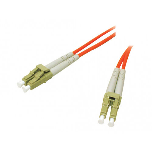C2G Low-Smoke Zero-Halogen - Patch cable - LC multi-mode (M) to LC multi-mode (M) - 2 m - fibre optic - 62.5 / 125 micron - orange