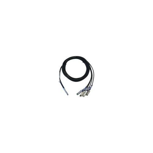Cisco - Network cable - SFP+ to QSFP+ - 1 m - tan - for Nexus 3064-E, 3064PQ