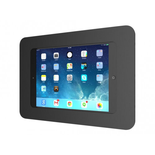 "Compulocks Rokku - iPad 9.7"" / Galaxy Tab A 9.7"" / S2 9.7"" / S3 9.7"" Wall Mount Enclosure - Black - Wall mount for tablet - black - for Apple 9.7-inch iPad Pro; iPad Air; iPad Air 2; Samsung Galaxy Tab A, Tab S2, Tab S3"