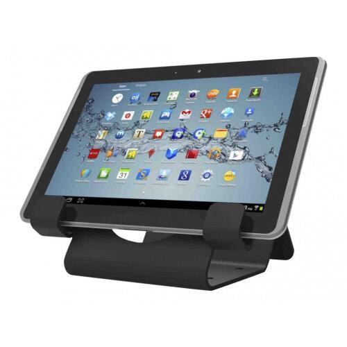 Compulocks Universal Tablet Holder - Keyed Cable Lock - Black - Secure table stand - black