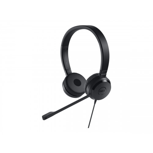 Dell Pro Stereo Headset UC350 - Headset - on-ear - wired - for Latitude 7390 2-in-1; Precision Mobile Workstation 7520