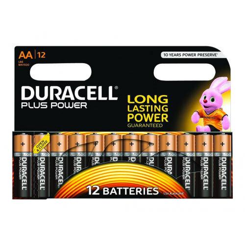 Duracell - Battery 12 x AA type Alkaline 2850 mAh