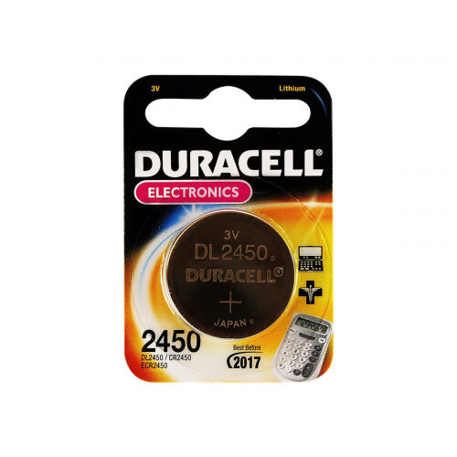 Duracell DL 2450 - Battery CR2450 Li