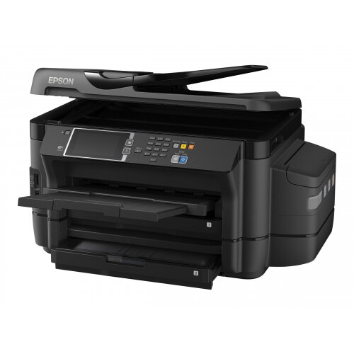 Epson EcoTank ET-16500 - Multifunction printer - colour - ink-jet - A3 (297 x 420 mm) (original) - A3 (media) - up to 32 ppm (printing) - 500 sheets - 33.6 Kbps - USB, LAN, USB host, Wi-Fi
