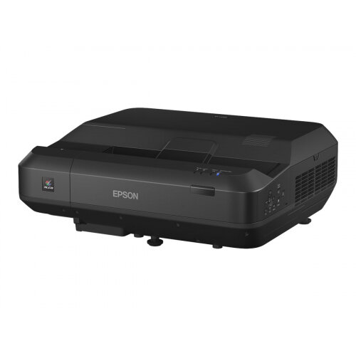 Epson EH-LS100 - 3LCD Multimedia Projector - 4000 lumens (white) - 4000 lumens (colour) - WUXGA (1920 x 1200) - 16:10 - 1080p - ultra short-throw fixed lens