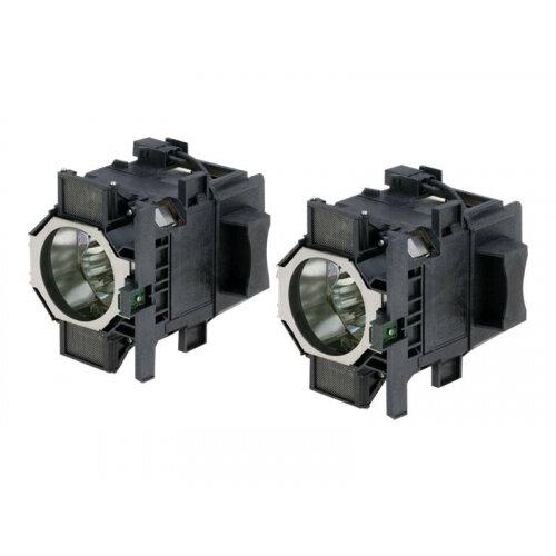 Epson ELPLP52 - Projector lamp - UHE - 330 Watt (pack of 2) - for Epson EB-Z8000, EB-Z8050; PowerLite Pro Z8000, Pro Z8050