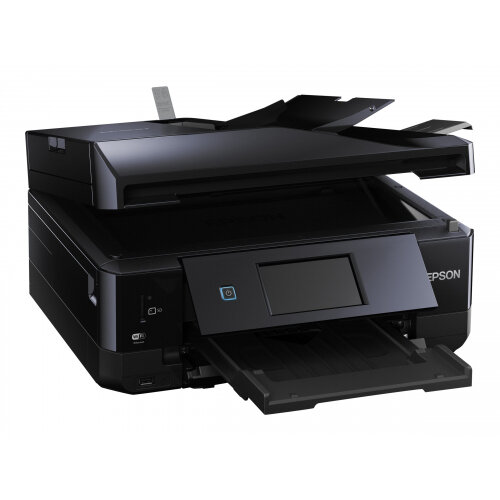 Epson Expression Premium XP-830 - Multifunction printer - colour - ink-jet - A4 (210 x 297 mm), Legal (216 x 356 mm) (original) - A4/Legal (media) - up to 32 ppm (printing) - 120 sheets - 33.6 Kbps - USB 2.0, LAN, Wi-Fi(n), USB host