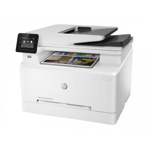 HP Color LaserJet Pro MFP M281fdn - Multifunction printer - colour - laser - Legal (216 x 356 mm) (original) - A4/Legal (media) - up to 21 ppm (copying) - up to 21 ppm (printing) - 250 sheets - 33.6 Kbps - USB 2.0, Gigabit LAN, USB host