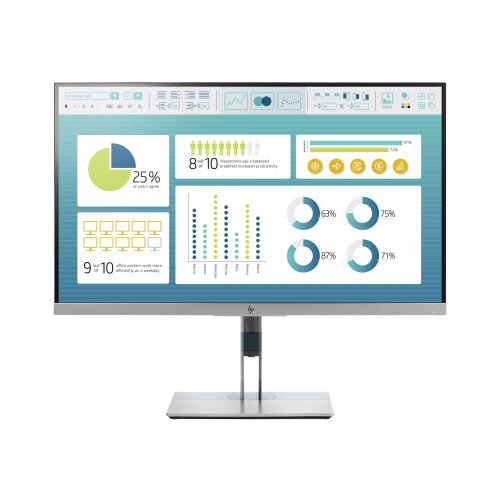 "HP EliteDisplay E273 - LED Computer Monitor - 27"" - 1920 x 1080 Full HD (1080p) - IPS - 250 cd/m² - 1000:1 - 5 ms - HDMI, VGA, DisplayPort"