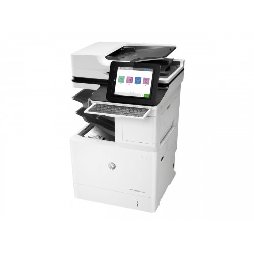 HP LaserJet Enterprise Flow MFP M632z - Multifunction printer - B/W - laser - 216 x 863 mm (original) - A4/Legal (media) - up to 61 ppm (copying) - up to 61 ppm (printing) - 3200 sheets - 33.6 Kbps - USB 2.0, Gigabit LAN, USB 2.0 host