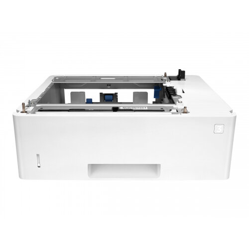 HP - Media tray / feeder - 550 sheets in 1 tray(s) - for LaserJet Enterprise Flow MFP M527; LaserJet Managed MFP M527; LaserJet Pro M501