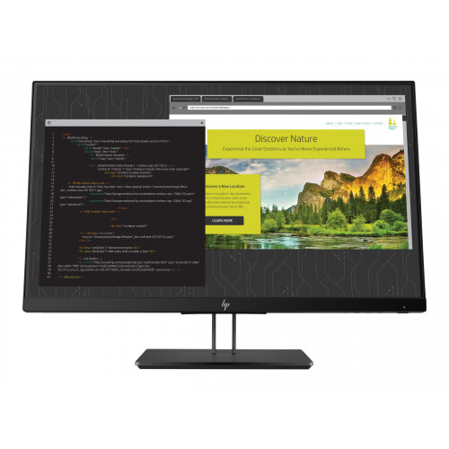 "HP Z Display Z24nf G2 - LED Computer Monitor - 23.8"" (23.8"" viewable) - 1920 x 1080 Full HD (1080p) - IPS - 250 cd/m² - 1000:1 - 5 ms - HDMI, VGA, DisplayPort - Black Pearl"