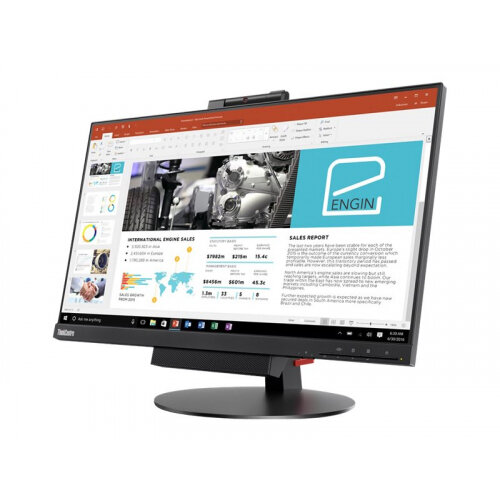 "Lenovo ThinkCentre Tiny-in-One 24 - Gen 3 - LED monitor - 23.8"" (23.8"" viewable) - 1920 x 1080 Full HD (1080p) - IPS - 250 cd/m² - 1000:1 - 4 ms - DisplayPort - speakers - black"
