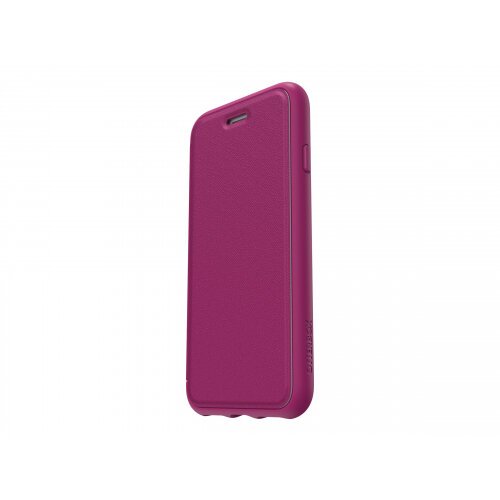 OtterBox Symmetry Series Etui Apple iPhone 8 - Flip cover for mobile phone - faux leather - berry in love - for Apple iPhone 7