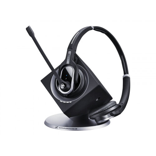 Sennheiser DW Pro 2 USB ML - Headset - on-ear - DECT CAT-iq - wireless